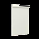 Wit screen met zonnepaneel