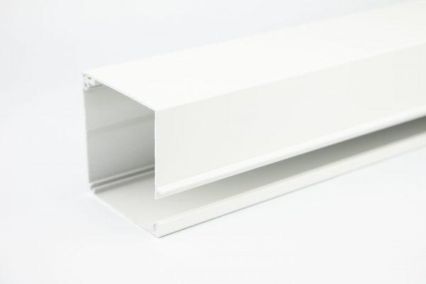 Screen kappenset (boven en onder) 85 Vierkant - Wit